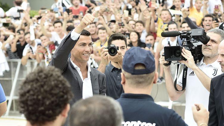 Cristiano Ronaldo, accueilli comme un prince à Turin (FLAVIO LO SCALZO/AGF/SIPA / FLAVIO LO SCALZO / AGF)