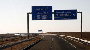 Le tronçon de contournement de Marrakech sera fermé 30 août au 12 septembre  (LARS HALBAUER / DPA / DPA/AFP)