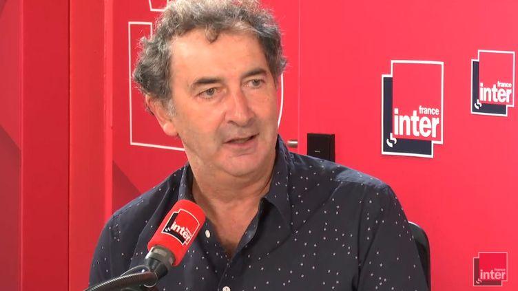 François Morel, sur le plateau du 7/9 de France Inter, le 21 septembre 2018. (RADIO FRANCE)
