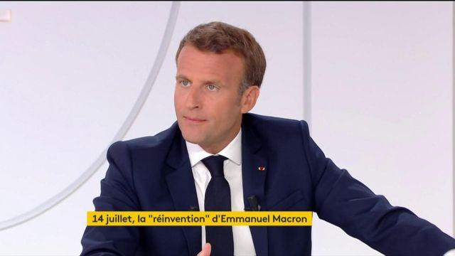"""Emmanuel Macron veut emprunter un """"nouveau chemin"""" pour atteindre son cap"""