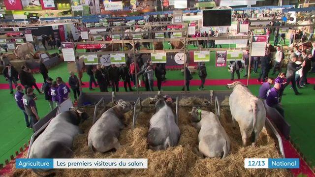 Salon de l'agriculture : premier jour de visites à Paris