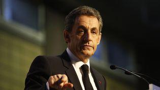 Nicolas Sarkozy, le 20 mars 2015 à Paris. (FRANCOIS LOOCK / CROWDSPARK / AFP)