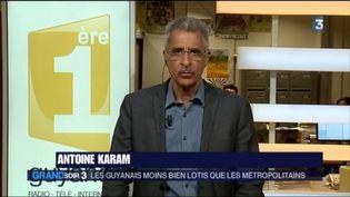 Antoine Karam, sénateur PS de la Guyane (France 3)