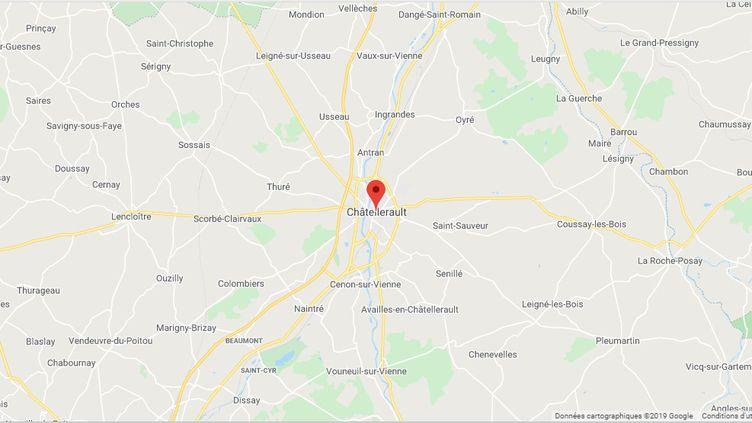 Châtellerault (Vienne) (GOOGLE MAPS)