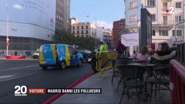 Voiture : Madrid bannit les voitures polluantes