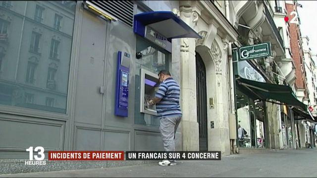 Incidents de paiement : un Français sur quatre est concerné