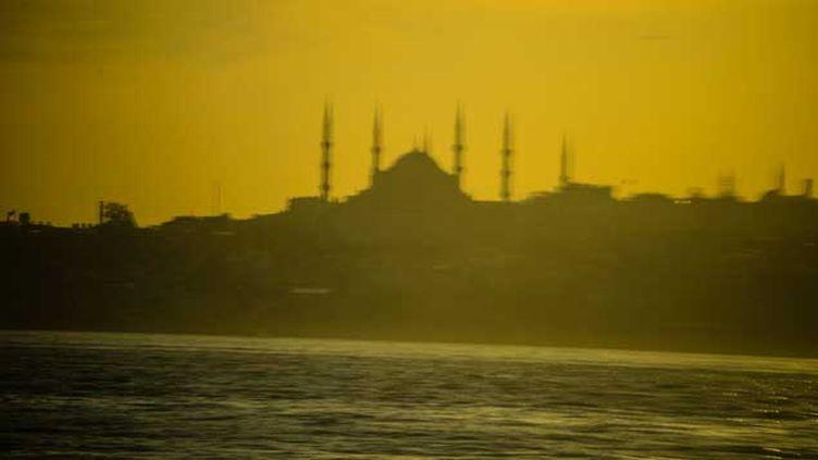 (Vue du Bosphore, depuis la rive asiatique d'Istanbul. © Christophe Petit Tesson/MAXPPP)