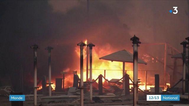 Turquie : d'importants incendies frappent le pays jusque dans les zones touristiques