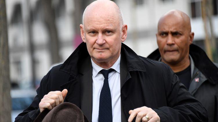 Christophe Girard, alorsadjoint à mairie de Paris, le 2 avril 2019, à Paris. (BERTRAND GUAY / AFP)