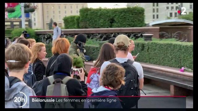 Biélorussie : les femmes en première ligne