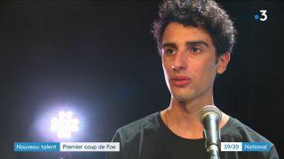 Le chanteur Foé (France 3)