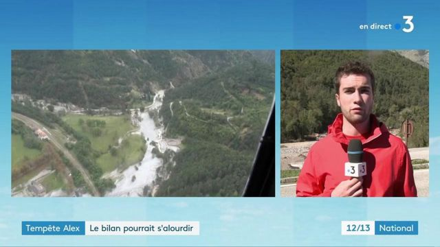 "Alpes-Maritimes : ""le bilan sera difficile"""