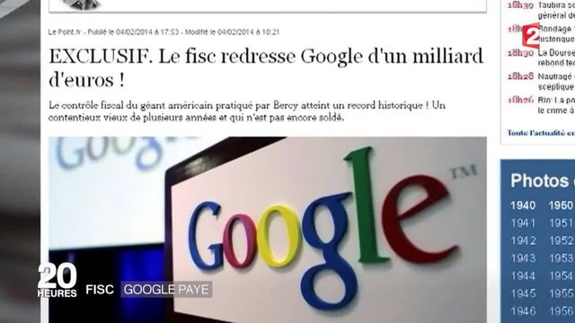 Impôts : Google va régler 172 millions d'arriérés au Royaume-Uni