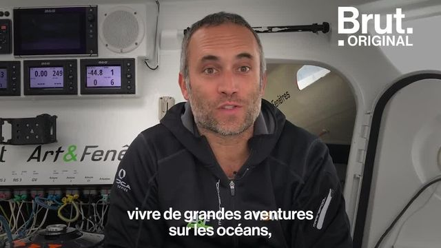 Fabrice était journaliste. Mais l'appel de l'océan l'a emporté. Après avoir participé au Vendée Globe, il a tout quitté pour devenir skipper. Il raconte.