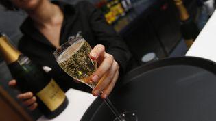Un verre de champagne. (  MAXPPP)