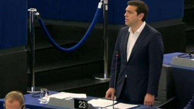 """Tsipras : """"Mon pays est devenu un champ d'expérimentation de l'austérité"""""""