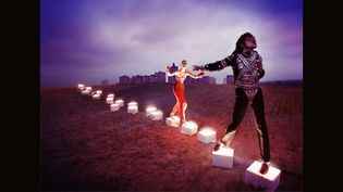 """An Illuminating Path"" de David LaChapelle (1998) Chromogenic colour print (116.9 x 160 cm).  (Courtesy of the artist)"