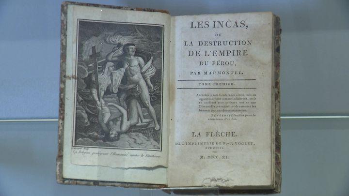 """""""Les Incas"""" de Jean-François Marmontel au centre d'une exposition au Musée du Nouveau Monde. (France 3 Poitou-Charentes)"""