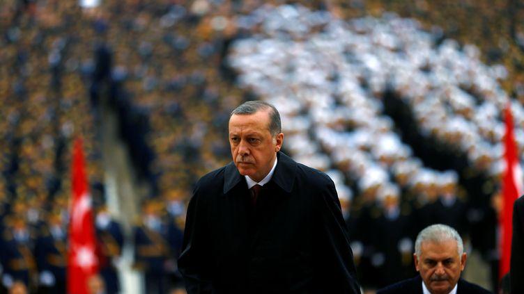 Le président turc, Recep Tayyip Erdogan, le 29 octobre 2016. (UMIT BEKTAS / REUTERS)