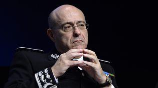 Le directeur général de la police nationale Jean-Marc Falcone lors d'une rencontre à l'Ecole militaire, le 13octobre 2015 à Paris. (MIGUEL MEDINA / AFP)