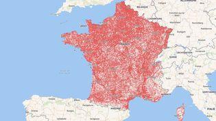 Les nouvelles cartes de couverture, publiées le 18 septembre par l'Arcep, ne se limitent plus à faire la distinction entre les zones couvertes et celles qui ne le sont pas mais mettent désormais en avant la couverture du réseau mobile sur l'ensemble du territoire. (ARCEP)