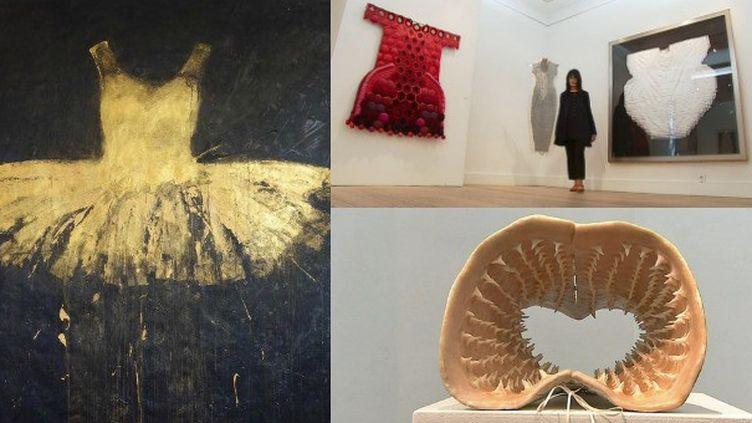 Les vêtements de l'imaginaire, la nouvellle exposition de la galerie D.X  (France 3 / Culturebox)