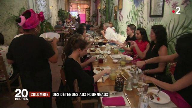 Colombie : des détenues aux fourneaux d'un restaurant gastronomique