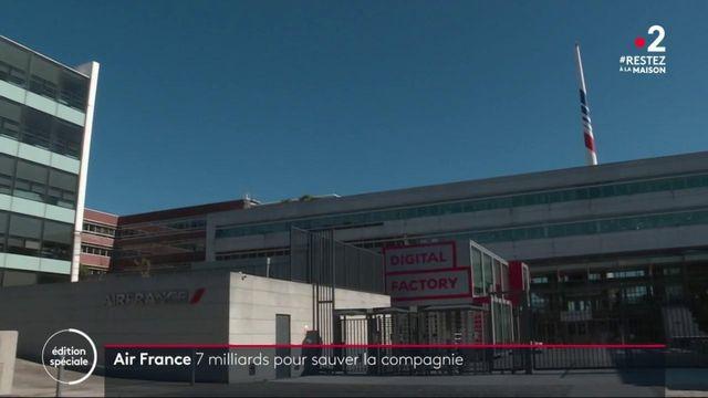 Crise du coronavirus : une aide gouvernementale historique pour Air France