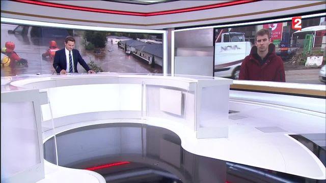 """Centre commercial inondé en Haute-Corse : """"Pas un seul recoin épargné"""""""