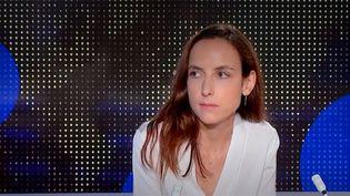 Julia Cagé. (FRANCEINFO)