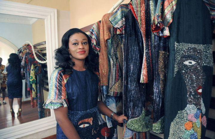 La créatrice Lanre Da Silva Ajay à Lagos (Nigéria) en juin 2013  (PIUS UTOMI EKPEI)