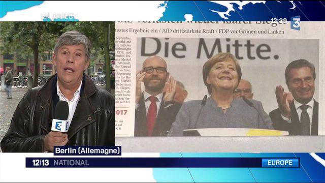 Élections allemandes : l'AfD troisième force politique du pays