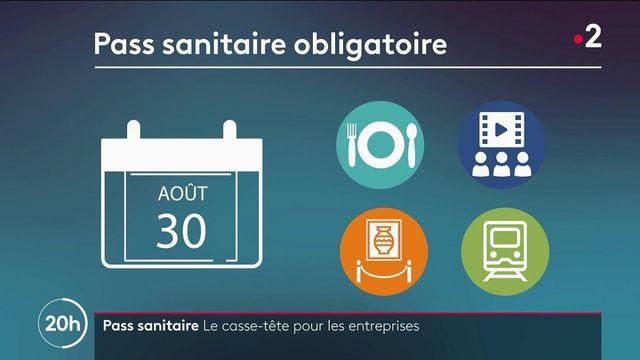 Pass sanitaire dans les entreprises : une obligation pour les salariés au contact du public à partir du 30 août