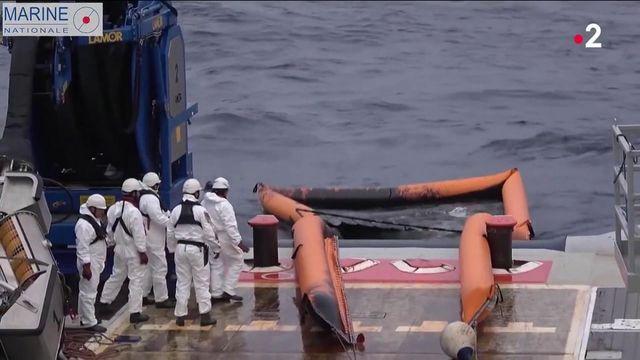 Pollution en Corse : les nappes d'hydrocarbure s'éloignent, une enquête en cours