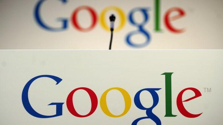 Dans les locaux de Google à New York, le 21 mai 2012. (EMMANUEL DUNAND / AFP)