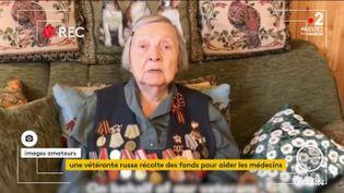 Une vétérante russe (France 2)
