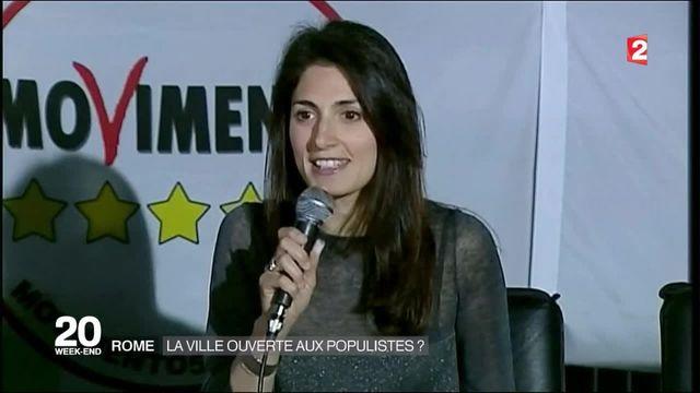 Rome : une femme du Mouvement 5 étoiles bientôt maire ?