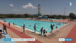Canicule : Carpentras bat un record de chaleur (France 3)