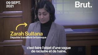 VIDEO. En larmes face au Parlement britannique, elle dénonce l'islamophobie dont elle est victime (BRUT)