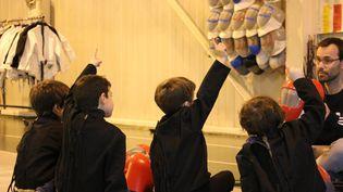 Cours débutant pour les enfants du NEC Escrime à Nantes. (NEC ESCRIME - FFE)