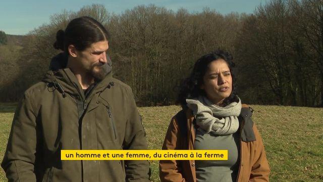 Sachka Lelouch, fils du réalisateur et agriculteur en Normandie