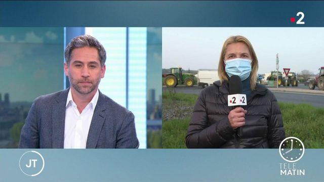 Essonne : des agriculteurs manifestent contre la future réforme de la PAC