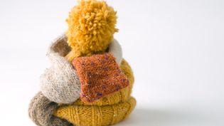 Echarpe et bonnet sont indispensables pour lutter contre le froid. (MICHÈLE CONSTANTINI / MAXPPP)
