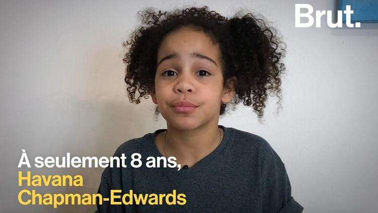 Touchée par l'assassinat de son cousin, Havana Chapman-Edwardsencourage tous les jeunes à comprendre l'importance du contrôle des armes. (BRUT)