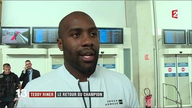 Judo : retour en France sous les acclamations pour Teddy Riner
