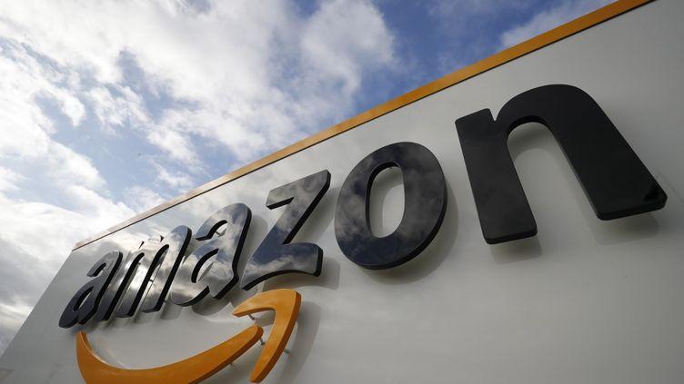 Les entrepôts Amazon de Bretigny-sur-Orge (Essonne), le 13 mai 2020. (THOMAS SAMSON / AFP)