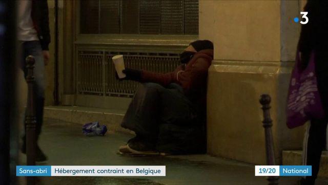 Froid : en Belgique, les SDF contraints de se mettre à l'abri