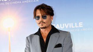 Johnny Depp lors du 45e Festival du cinéma américain de Deauville en septembre 2019. (FOC KAN / FILMMAGIC)