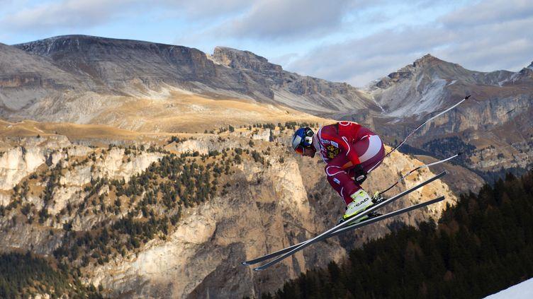 Aksel Lund Svindal est dans une forme olympique depuis le début de l'hiver  (OLIVIER MORIN / AFP)