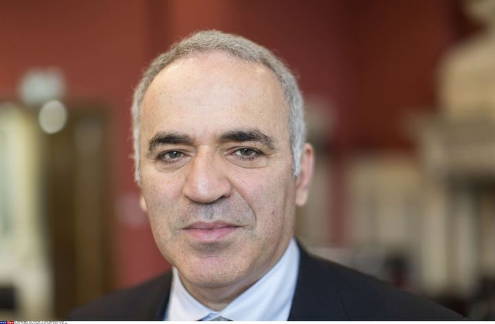 Garry Kasparov  (DAVID HARTLEY/Shutterst/SIPA)